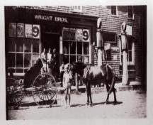 Wright Bros. General Store, Victoria; Private Collection, no date