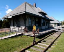Elmira Railway Station; Province of PEI, Brian Simpson, 2004