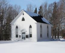Showing front elevation in winter; Province of PEI, Faye Pound, 2009