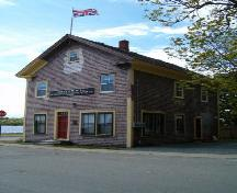 Front Perspective, Joseph McGill Shipbuilding and Transportation Company Office, Shelburne, 2004; Heritage Division, Nova Scotia Department of Tourism, Culture and Heritage, 2004