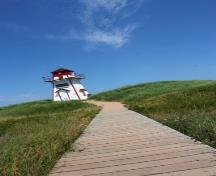 General view of Covehead Harbour Lighthouse, one of the most photographed lighthouses in Prince Edward Island; Parks Canada Agency | Agence Parcs Canada