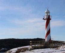 General view of Heart's Content Lighthouse; Town of Heart's Content | Ville de Heart's Content, Doug Piercey