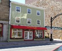 Lower Water Street elevation, P. Martin Liquors Building, Halifax, Nova Scotia, 2005.; HRM Planning and Development Services, Heritage Property Program, 2005.