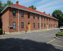 General view of Officer Cadet Dormitory; Fort Saint-Jean Museum / Musée du Fort Saint-Jean