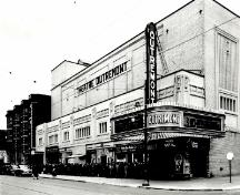 Historic photograph showing Outremont Theatre.; Library and Archives Canada | Bibliothèque et Archives Canada, Hayward Studios, PA-081560.