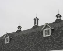 Roof detail; Province of PEI, F. Pound, 2009