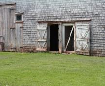 South elevation doors; Province of PEI, F. Pound, 2009