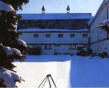 General view of the Stable (Building No. 15) on the Indian Head Research Station; Agriculture Canada