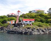General view of Nootka Lighthouse, 2009.; Kraig Anderson - lighthousefriends.com