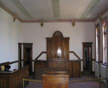 Main Courtroom, First Floor; Government of Saskatchewan, Michael Thome, 2004