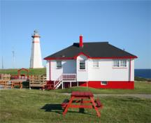 General view of Cape Ray Lighthouse, 2009.; Kraig Anderson - lighthousefriends.com