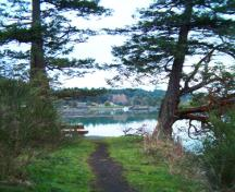 View of Nymph Point Park; District of North Saanich, 2008