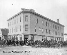 View of the National Hotel from the southeast (unknown); Glenbow Archives, NA-1075-9