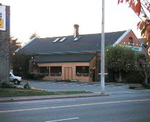 Exterior view, Lake Hill Pumping Station, 2004; District of Saanich, 2004