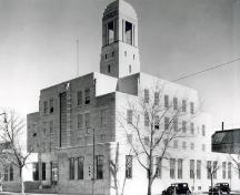 Exterior photo; (Public Archives of Canada Photo, PA 124656, 1936.)