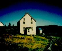 Exterior photo of Tilley House, Elliston, NL.; HFNL 2005.