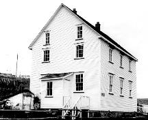 Exterior photo of Tilley House, Elliston, NL, circa 1995.; HFNL 2005.
