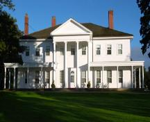 Showing Neo-classical (Georgian) elements; Province of PEI