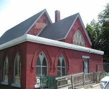 St. Mark's Anglican Church, rear of building, Halifax, Nova Scotia, 2005.; Heritage Division, NS Dept. of Tourism, Culture, and Heritage, 2005.