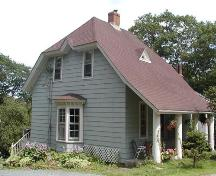 Sir Sandford Fleming Cottage, east elevation, 2004; Halifax Regional Municipality, 2004