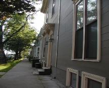 Restored townhouses, Smith Victorian Streetscape, Halifax, Nova Scotia, 2005.; Heritage Division, NS Dept. of Tourism, Culture and Heritage, 2005.