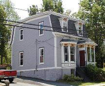 Front and side elevations, Johnstone Chittick House, Dartmouth, Nova Scotia, 2005.; HRM Planning and Development Services, Heritage Property Program, 2005.