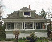 Exterior view of the McBeath House; Victoria Heritage Foundation, Derek Trachsel, 2005.