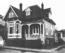 Exterior view of 613 Avalon Road, ca. 1959-1960; City of Victoria Archives