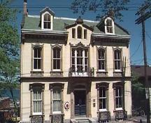 Benjamin Wier House, Italiate style facade, Halifax, Nova Scotia, 1997.; HRM Planning and Development Services, Heritage Property Program, 1997.