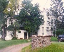 West side elevation of house, GowanBrae, Grand Pre, 1988.; Heritage Division, Nova Scotia Department of Tourism, Culture and Heritage, 1988