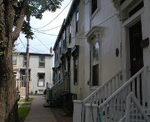 Prince Place Victorian Townhouses, Halifax, Nova Scotia, 2005.; Heritage Division, NS Dept. of Tourism, Culture and Heritage, 2005.