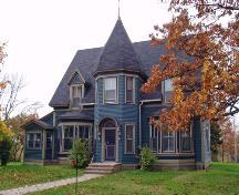 By the time J. A. Humphrey died in 1895, he was one of the wealthiest people in Canada.  The design and size of the house reflect the life of a successful industrialist with a large family.; Moncton Museum