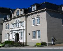 Exerior front facade, O'Donel Memorial Hall, 058 Queen's Road, St. John's, NL.  Photo taken 2005/07.; Nikki Hart/HFNL 2005.