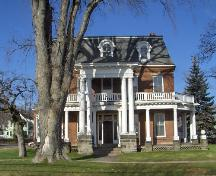 Showing south elevation; City of Charlottetown, Natalie Munn, 2005