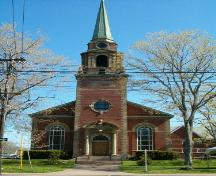 Front elevation, First United Church, Truro, Nova Scotia, 2004; Heritage Division, Nova Scotia Department of Tourism, Culture and Heritage, 2004