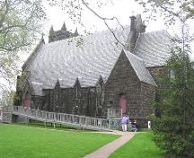 St. John's Anglican Church, northwest perspective, 2004; Heritage Division, N.S. Dept. of Tourism, Culture and Heritage, 2004