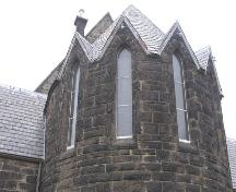 St. John's Anglican Church, southern perspective, 2004; Heritage Division, N.S. Dept. of Tourism, Culture and Heritage, 2004