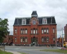 Front elevation, Halifax Academy, Halifax, Nova Scotia, 2005.; HRM Planning and Development Services, Heritage Property Program, 2005.