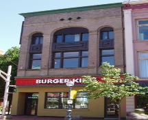 The Provincial Bank Building is now home to a restaurant on the ground floor and commercial office space on the second and third floors.; Moncton Museum
