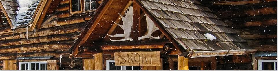 Skoki Ski Lodge National Historic Site of Canada, AB