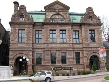 Brockville Post Office / Bureau de poste de Brockville (Alan, 2009)