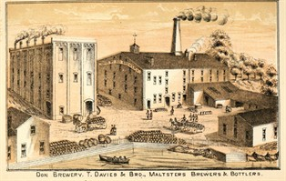 Don Brewery, 1877, City of Toronto Archives 496.4.3 / La brasserie Don, 1877, les archives de la Ville de Toronto 496.4.3