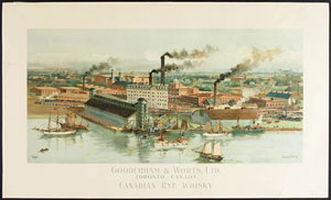 Gooderham and Worts Distillery, LAC C-151590 / La distillerie Gooderham and Worts, BAC C-151590