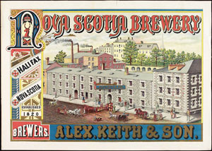 Alexander Keith Brewery, LAC C-150714 / Brasserie Alexander Keith, BAC C-150714