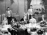 A royal banquet at the Chateau Laurier, 1939, LAC PA-211004 / Un festin royal au Château Laurier, BAC PA-211004
