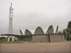 St-Louis-de-Gonzague Church, Bernard LeBlanc / Église Saint-Louis-de-Gozague, Bernard LeBlanc