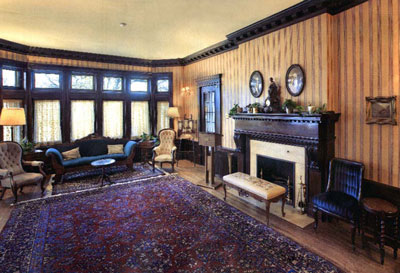 Drawing room, Ralph Connors House / Salon, maison Raplh Connors