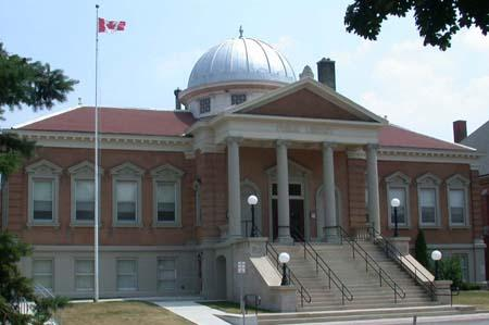 Brantford Library, City of Brantford / Bibliothèque de Brantford, ville de Brantford