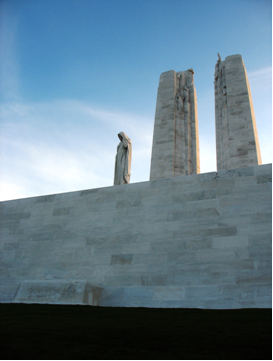 Vimy Monument, Parks Canada, 2008